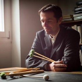 Image: Visual Percussion- Konzert von und mit Luca Borioli