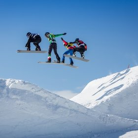 Image: FIS Snowboard Cross Weltcup Feldberg