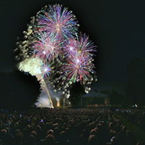 Bild: Feuerblumen und Klassik Open Air im Britzer Garten
