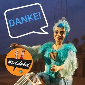 Image: Solidaritäts-Ticket Lindauer Marionettenoper