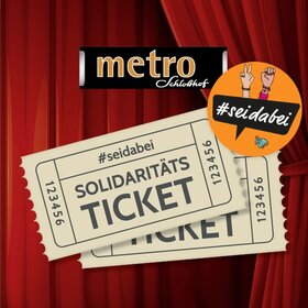 Image Event: Solidaritätsticket - metro-Kino im Schloßhof
