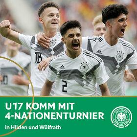 Image Event: DFB U17-Länderspiele