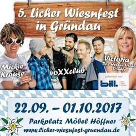 Bild Veranstaltung: 5. Licher Wiesnfest Gründau 2017
