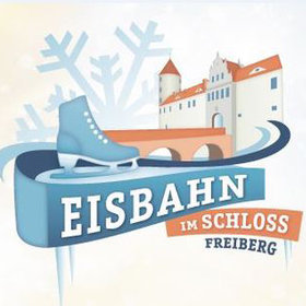 Bild: Eisbahn im Schloss Freudenstein