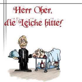 Image: Murder Mystery Dinner - Herr Ober, die Leiche bitte!