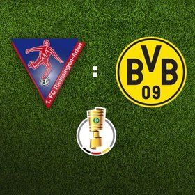 Bild: DFB-Pokal: 1. FC Rielasingen-Arlen - Borussia Dortmund