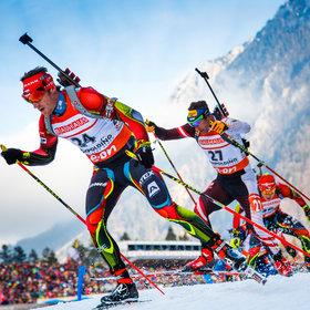 Bild: Biathlon Weltcup Ruhpolding 2018