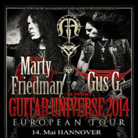 Image: Marty Friedmann & Gus G.