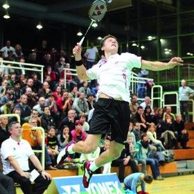 Image: Badminton-Länderspiel