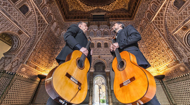 Bild: FLAMENCO - Antonio Andrade Quartett // Tanz: Ursula Moreno
