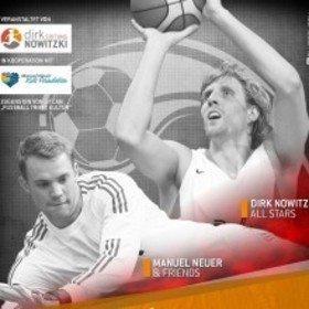 Image: Dirk Nowitzki All Stars vs. Manuel Neuer & Friends