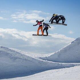 Image Event: FIS Snowboard Cross Weltcup Feldberg