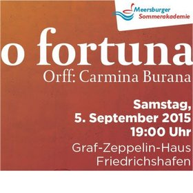 """Bild: Carl Orff: """"Carmina Burana"""""""