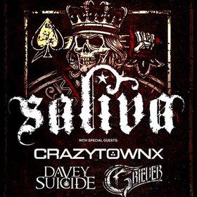 Image: Saliva, Crazy Town & Davey Suicide