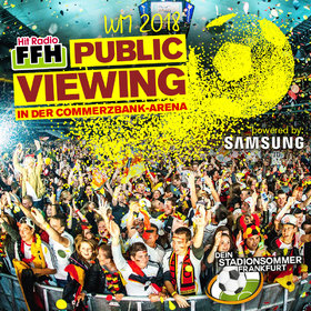 Bild: FFH Public Viewing WM 2018