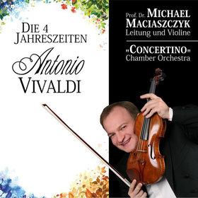 Bild Veranstaltung: Vivaldis vier Jahreszeiten - Michael Maciaszczyk