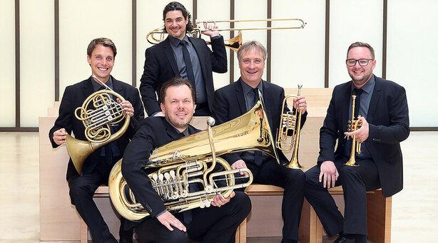 Bild: Classic Brass – eines der besten Blechbläserensembles Europas – gastiert mit »AMAZING MOMENTS«