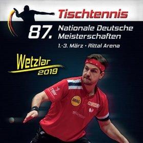 Bild Veranstaltung: Nationale Deutsche Meisterschaften - Tischtennis