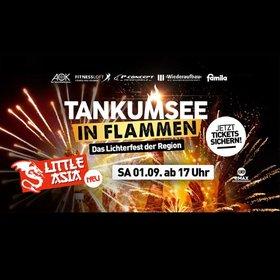 Image: Tankumsee in Flammen