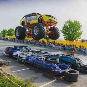 Image: Dynamit auf Rädern