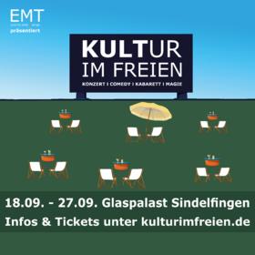 Image: Kultur im Freien - Glaspalast Sindelfingen