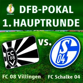 Bild: DFB-Pokal: FC Villingen 08 gegen FC Schalke 04