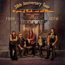 Bild: BONFIRE - 30th Anniversary 2016 - Burnin Tales n Pearls