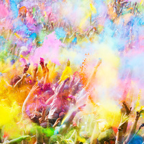 Bild: Holi Festivals