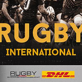 Image: Rugby International - 15er-Rugbynationalmannschaft Länderspiele