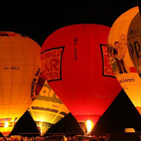 Image: Internationales Ballonfestival