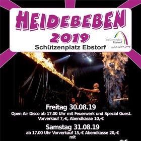 """Image Event: Heidebeben - """"Von Rock bis Neue Deutsche Welle"""""""