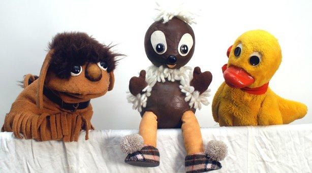 Bild: Pittiplatsch und seine Freunde - mit den Original TV-Figuren