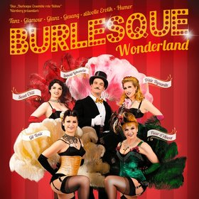 Image Event: Burlesque-Ensemble rote Bühne: Burlesque Wonderland
