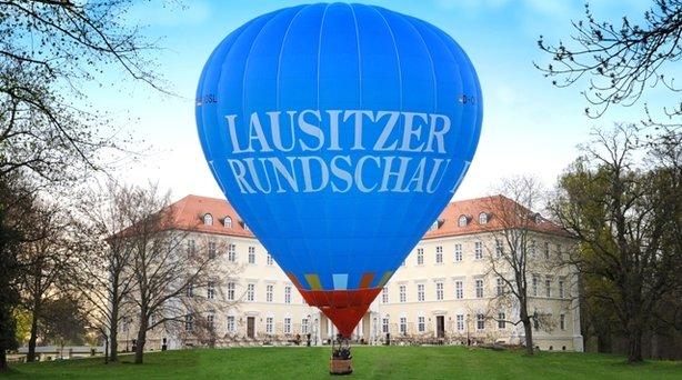 Bild: Ballonfahrt ab Lübbenau - mit dem Ballon