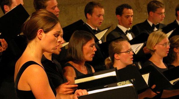 Bild: Johann Sebastian Bach - Johannes-Passion - Sächsisches Vocalensemble