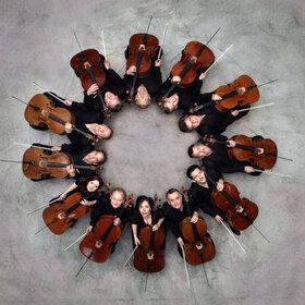 Image: Die 12 Cellisten der Berliner Philharmoniker