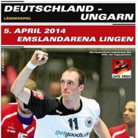 Image: Deutschland vs. Ungarn - Handball-Länderspiel Männer