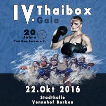 Bild Veranstaltung 4. Borkener Thaiboxgala
