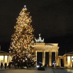 Image: Weihnachtliche Lichterfahrt durch Berlin