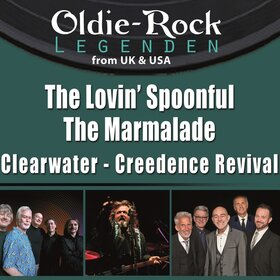 Image: The Lovin' Spoonful, The Marmelade & Clearwater Creedence Rev
