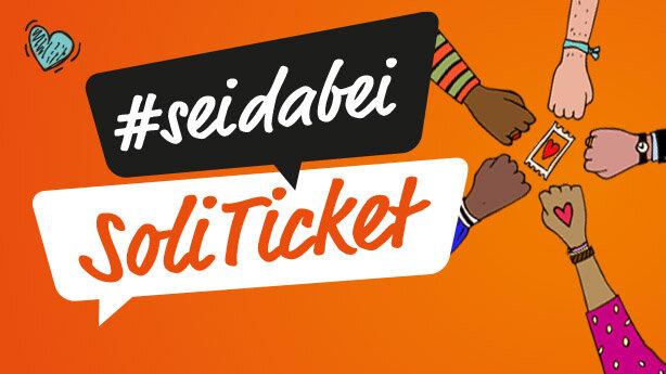 Bild: Soli-Ticket #seidabei - Ich habe geholfen! Bockshorn sagt DANKE