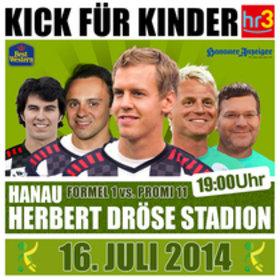 Image: Kick für Kinder 2014 - Benefiz-Fußballspiel