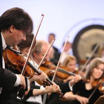 Bild: hr-Sinfoniekonzert -   Ludwig van ... Pierre-Laurent Aimard, Andrés Orozco-Estrada