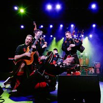 Bild: The Red Hot Chilli Pipers