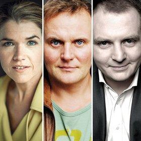 Image: Anke Engelke, Devid Striesow & Jörg Thadeusz