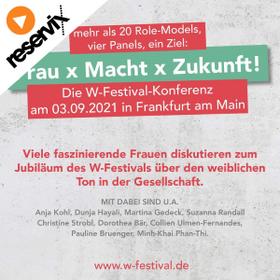 Image Event: W-Festival | Frau x Macht x Zukunft