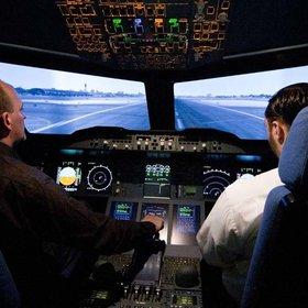 Image: A380 Flugsimulator