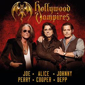 Image: Hollywood Vampires - Johnny Depp, Alice Cooper, Joe Perry