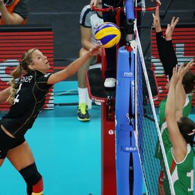 Bild: Volleyball-Länderspiel: Deutschland - Ungarn