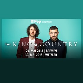 Bild Veranstaltung: For King and Country